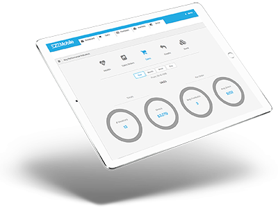 Key Feature Dashboard Icon for cloud inventory management software-EZEMobile New Zealand